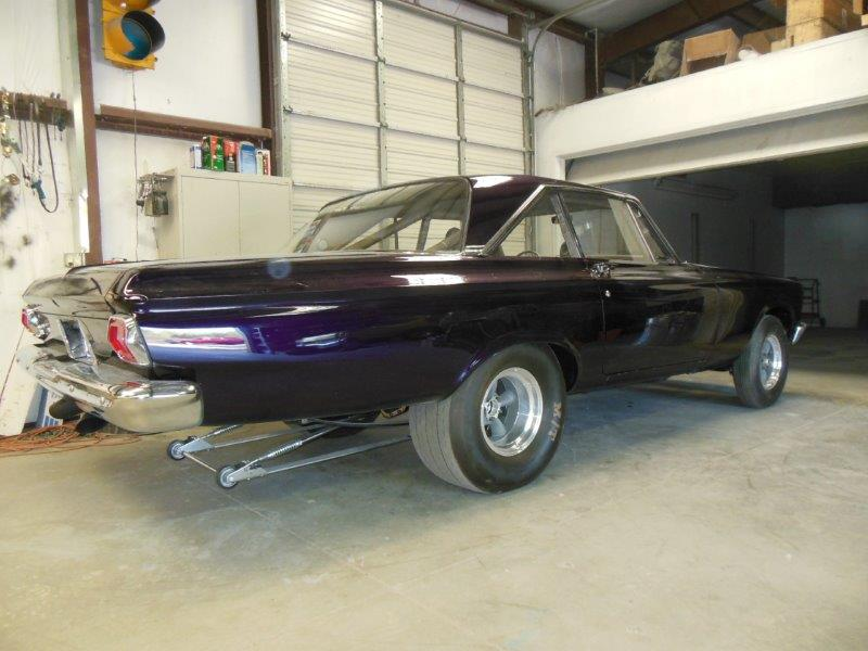 1965 Altered wheel base A/FX Plymouth